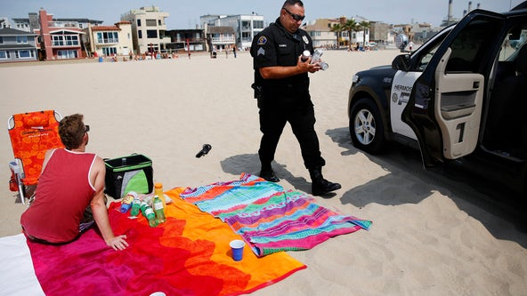 Hermosa Beach warns people in the city to behave on Fourth of July holiday
