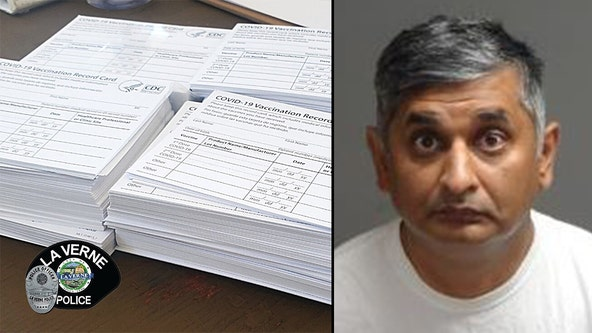 Man charged with allegedly stealing hundreds of blank COVID-19 vaccine cards