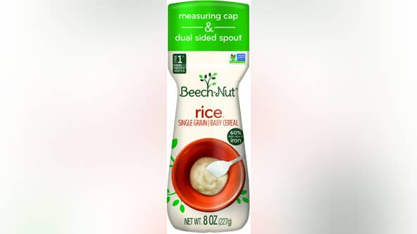 Beech-Nut recalls baby rice cereal over high arsenic levels