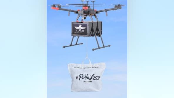 El Pollo Loco testing drone delivery services in parts of Southern California