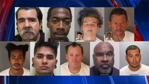 Riverside Police issue safety alert warning about wanted sexual predators