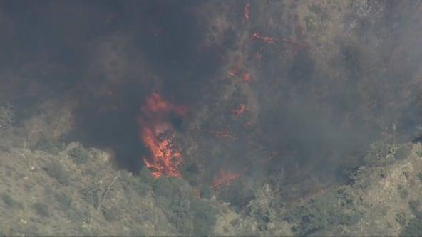 Flats Fire: Mandatory evacuation issued for Pinyon Crest amid blaze