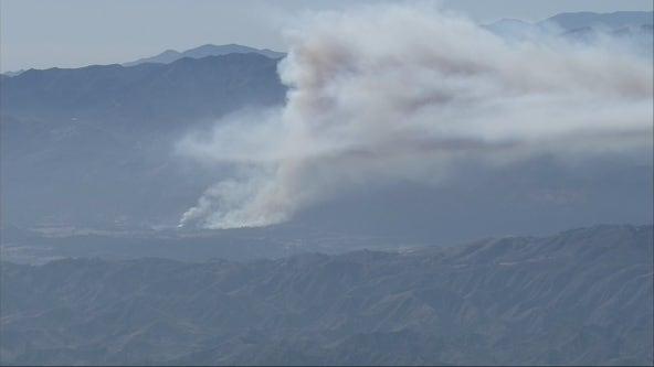 Casitas Fire: Crews battling brush fire in Ojai
