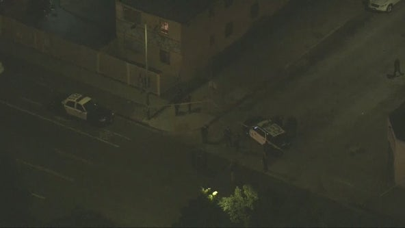 Young girl and a man shot in South Los Angeles