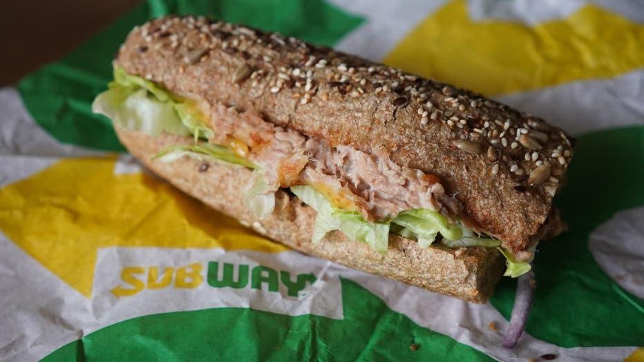 Subway fast food restaurant