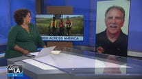 Retired VCFD Battalion Chief sets out on 3,000 mile bike ride from Santa Monica to New York