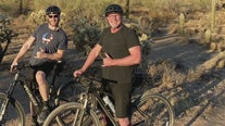 CEO training for 3000 mile bike ride to stop the cycle of child sexual abuse
