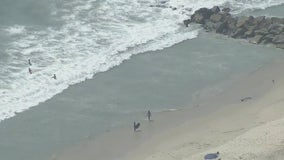 Beaches reopen after sewage spill