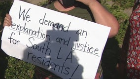 Community demands answers from LAPD after South LA explosion