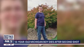 Michigan boy, 13, dies after second COVID-19 vaccine shot