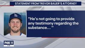Dodgers' Trevor Bauer appears at restraining order hearing