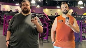 Man's viral 240-pound weight loss transformation: 'Anything's possible'