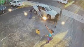 VIDEO: Victim opens fire on would-be robbers in Melrose shootout