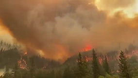 Dixie Fire: California's largest wildfire has scorched more than 200,000 acres