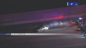 Standoff after suspected DUI driver leads CHP on chase