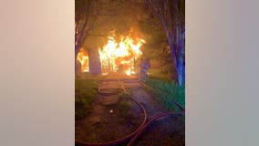 Family dog killed in housefire, investigators say improperly disposed of fireworks to blame