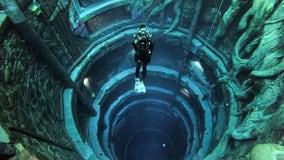 World's deepest pool opens in Dubai with 'Sunken City'