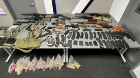 Convicted felon arrested for assault, over 20 firearms and 5,000 rounds of ammunition recovered