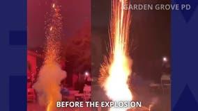 9 injured during firework blast in Garden Grove
