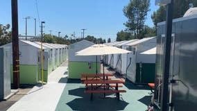 Housing the homeless: New tiny home village opens in Tarzana