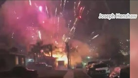 Fireworks cause Southern California air quality problems