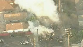 17 injured in police detonation of illegal fireworks in South LA