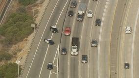 Police investigate possible freeway shooting on 210 Freeway in Irwindale