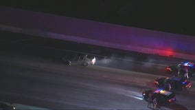 Suspected DUI driver in custody after leading CHP on chase in city of Industry
