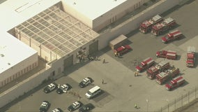 7 deputies, 2 inmates hurt after fight at a LA County detention center