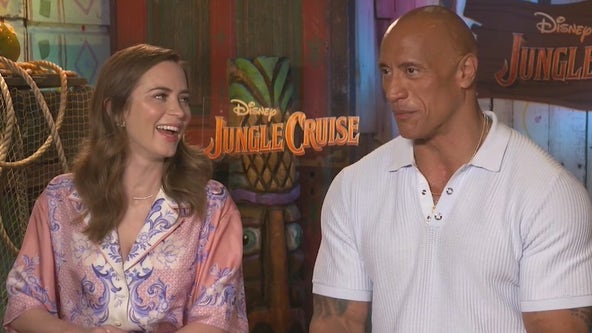 Welcome to the PUN-GLE! Dwayne 'The Rock' Johnson, Emily Blunt preview their new Disney film 'Jungle Cruise'