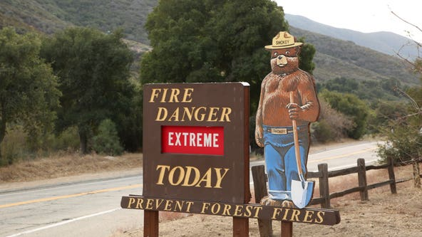 Angeles National Forest fire danger elevated to 'Extreme' amid high temps, dry conditions