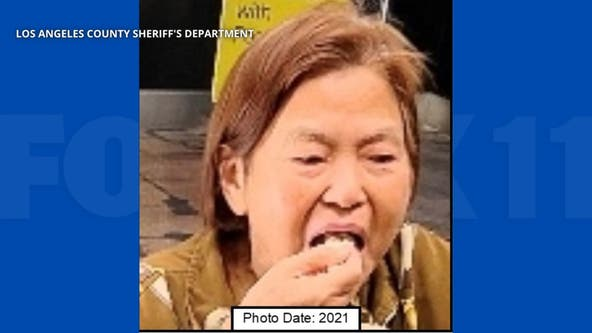 LASD shares photo of missing 80-year-old woman