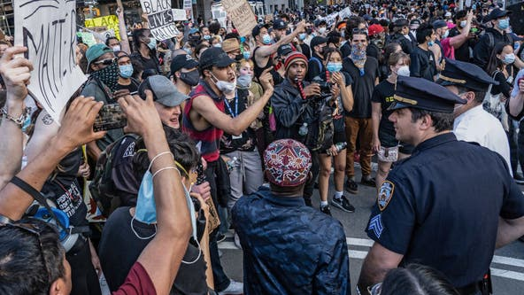 Nassau County lawmakers to vote on bill that would let police sue protesters