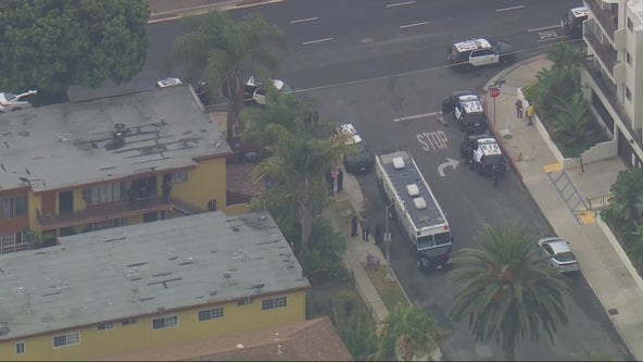 Suspect shot and killed by LAPD officer in West LA area