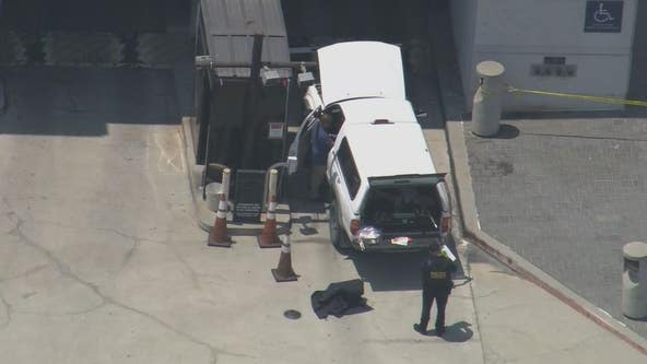 Man wearing body armor with cache of weapons stopped outside Roybal Federal Building in DTLA