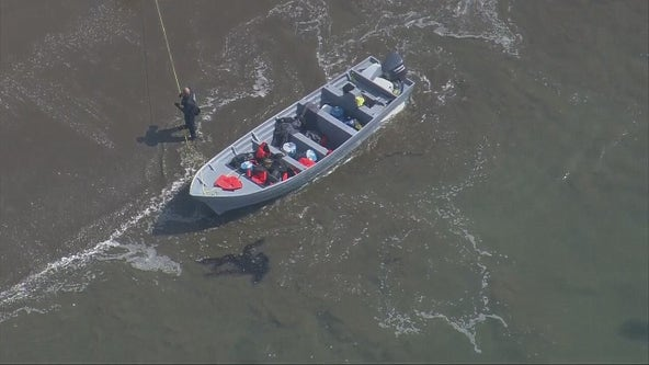 Human smuggling boat washes ashore in Rancho Palos Verdes; 14 Mexican nationals detained, CBP says