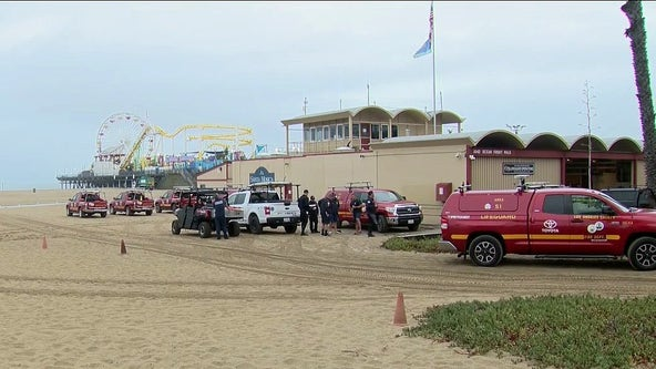 Search suspended for missing swimmer in water near Santa Monica Pier