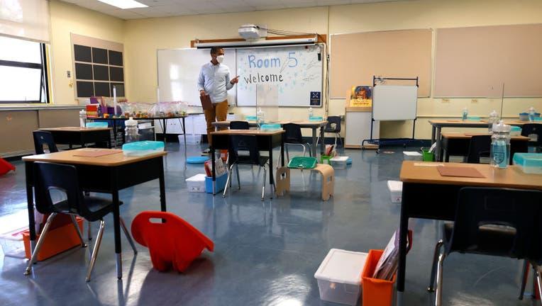 bcb1e5ef-San Francisco Public Schools Prepare For In Person Learning