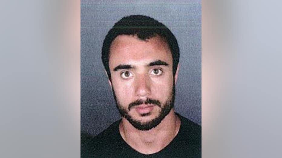 Mugshot of suspected Burbank serial groper Daniel Keshishyan