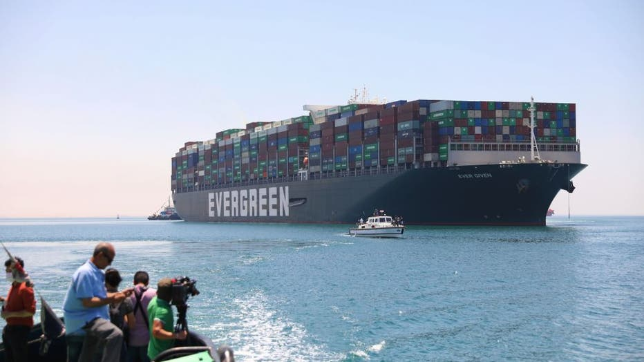 Ever Given ship sails to leave Egypt after more than 100 daysâââââââ