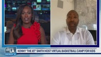 NBA Legend Kenny Smith on 'The Jet Academy' a Virtual Basketball Camp For Kids