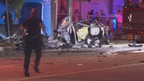 Horrific Burbank car crash leaves 3 dead, 2 injured