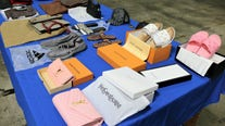 $53 million worth of fake designer products seized by officials in LA
