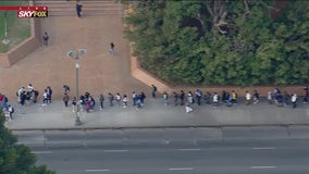 LAUSD students return to campuses for fall semester; some students met with long lines