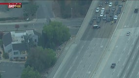 Pedestrian killed on southbound lanes of 57 Freeway in Fullerton