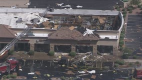 Chandler community left shaken after explosion at business leaves 4 people badly hurt
