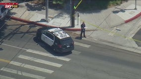 Man armed with knife shot by LAPD in Wilmington