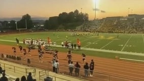 Cheer squad allegedly taunted with racial slurs during high school football game