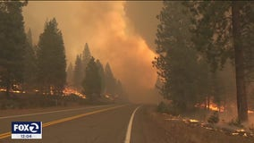 Several Lake Tahoe resorts closed due to wildfire threat