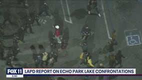 LAPD releases report on Echo Park Lake encampment confrontation